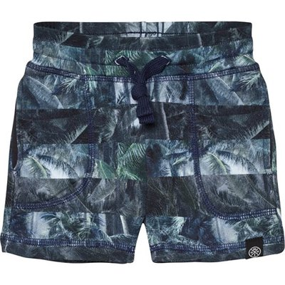 Camo Palm Stripe Ajaz Shorts