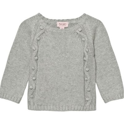 Noa Noa Miniature Grey Melange Baby Idea Jumper