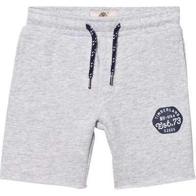 Grey Branded Sweat Shorts