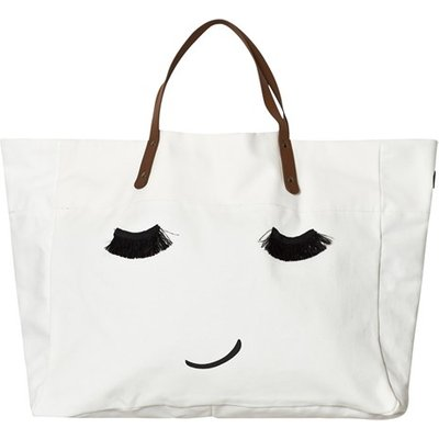 Large tote bag Porcelain Clay