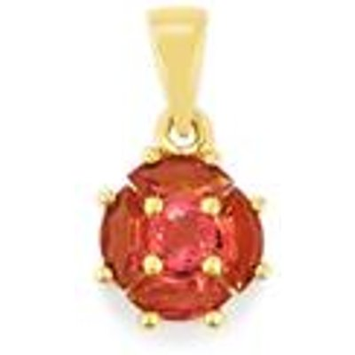 Natural Pink Tourmaline Pendant in 9K Gold 0.67cts
