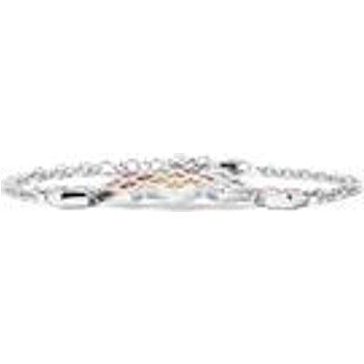2.35ct Rainbow Sapphire Sterling Silver Bracelet