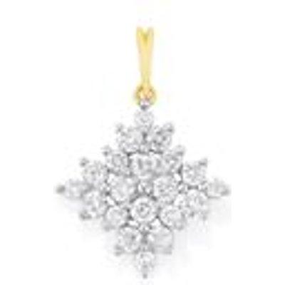 Diamond Pendant in 18K Gold 0.50ct