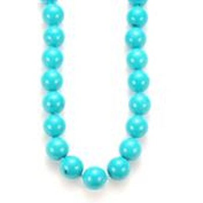 Turquoise Necklace  in Sterling Silver 436.90cts
