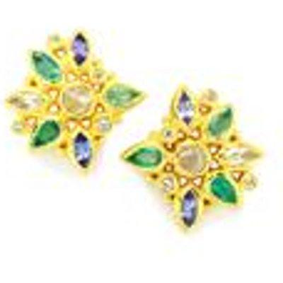 Exotic Gems Earrings in Vermeil 2.77ct