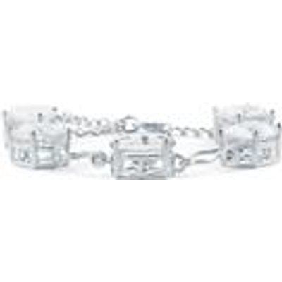 Natural Ice Fluorite Bracelet  in Sterling Silver 25.70cts