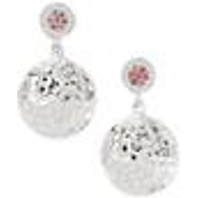 0.11ct Rhodolite Garnet Sterling Silver Earrings