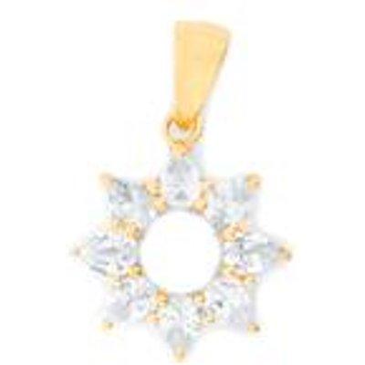 1.30ct Ceylon White Sapphire Midas Pendant