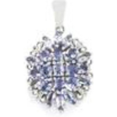 Tanzanite Pendant  in Sterling Silver 2.96cts