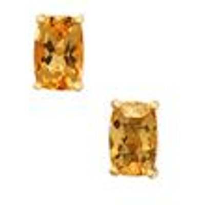 1.11ct Ouro Preto Imperial Topaz 9K Gold Earrings