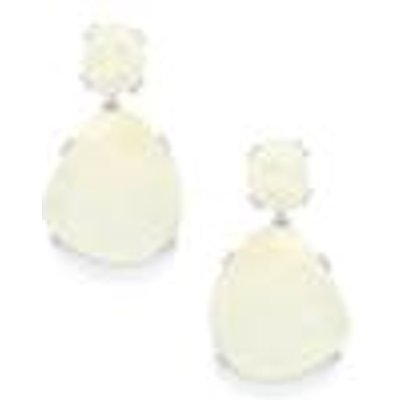 57.85ct Rainbow Moonstone Sterling Silver Earrings