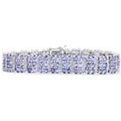 Tanzanite Bracelet in Sterling Silver 23.94cts
