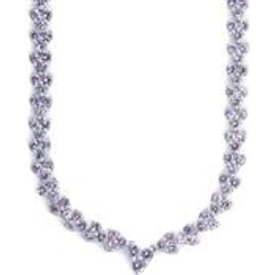 19.03ct Tanzanite Sterling Silver Necklace