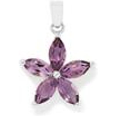 Amethyst Pendant in Sterling Silver 4.78cts