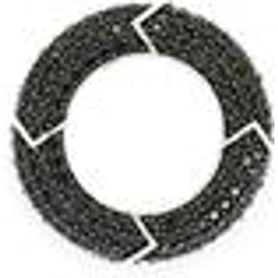 3.61ct Black Spinel Sterling Silver Pendant