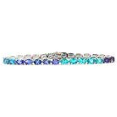 Ocean Hues Bracelet in Sterling Silver 13.38cts