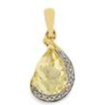 Serenite Pendant with Diamond in 9K Gold 1.79cts