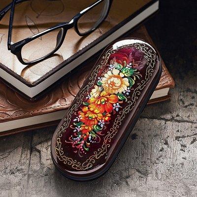 Agata Handpainted Glasses Case