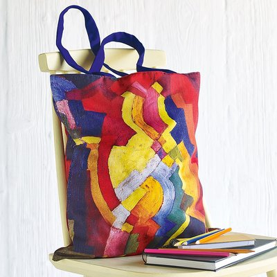 Coloured Forms Tote Bag