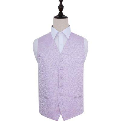 Lilac Swirl Patterned Wedding Waistcoat 40