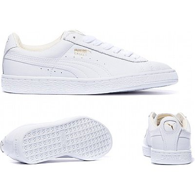 Womens Basket Leather Trainer