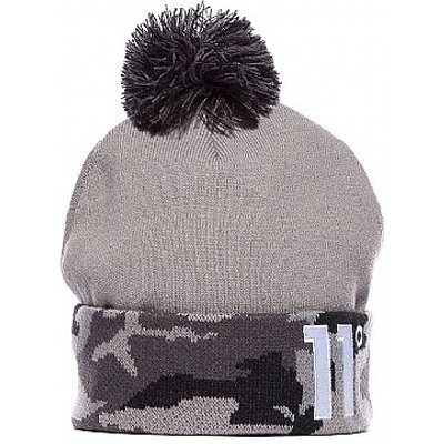 Cuff Knit Bobble Hat