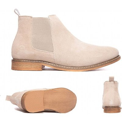 Suede Resin Chelsea Boot