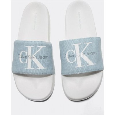 Womens Chantal Heavy Canvas Slide