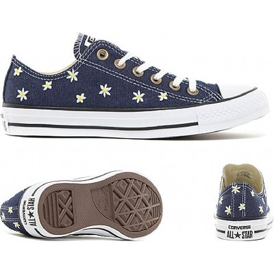 Womens Chuck Taylor All Star Floral Denim Trainer