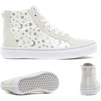 Infant SK8-Hi Zip Glitter Trainer
