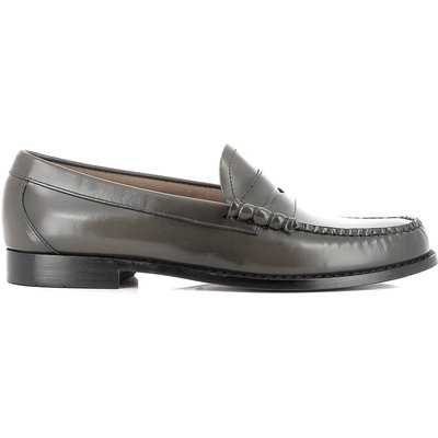 Weejuns Larson Penny Loafer Dark Grey Leather