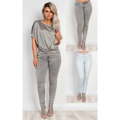 IKRUSH Womens Orson Classic Skinny Jeans