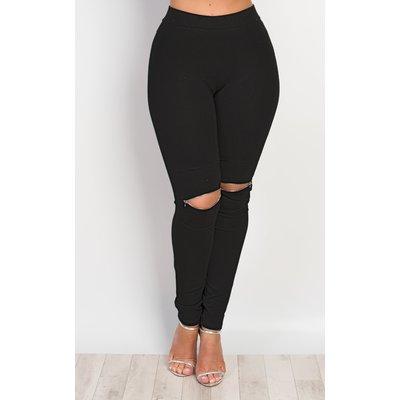 IKRUSH Womens Alizabeth Zip Detail Leggings