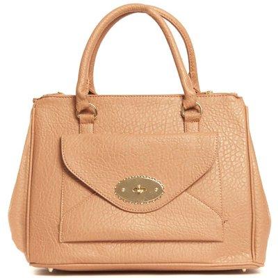 IKRUSH Womens Saffy Oversized Handbag, Dark Pink