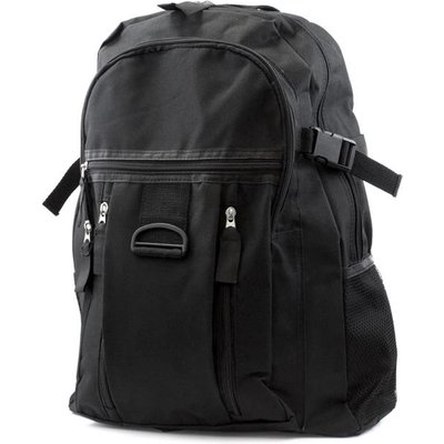 Black Backpack with Multi Pocket