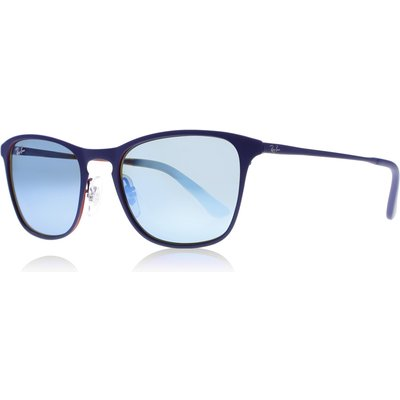 Ray-Ban Junior 9539S Sunglasses Rubber Blue/Red 257/55 48mm