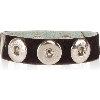 Bali Clicks-Bracelets - Bali Click Armband 511 - Black