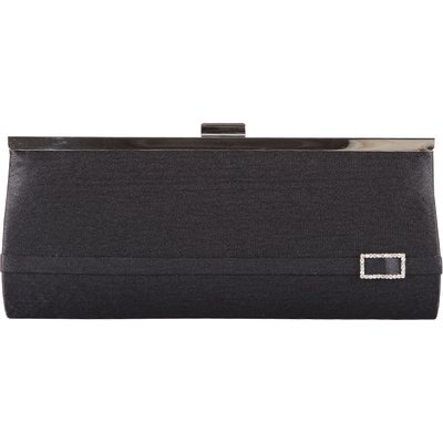 Bulaggi-Clutches - Framebag Diamond Buckle - Black