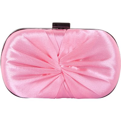Bulaggi-Clutches - Oval Box Knot - Pink