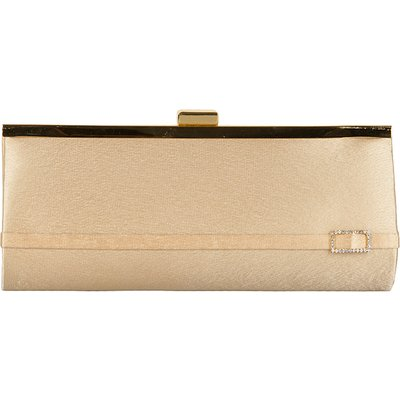 Bulaggi-Clutches - Framebag Diamond Buckle - Gold