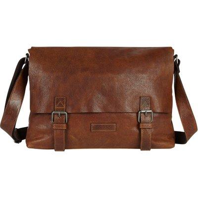 Castelijn & Beerens-Hand bags - Marinus Posttas by Renee 13 inch - Brown