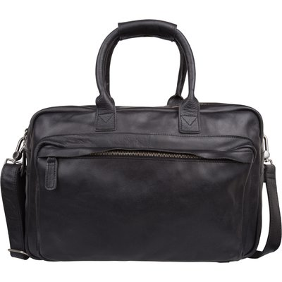 Cowboysbag-Handbags - Laptop Bag Hudson 15.6 inch - Black