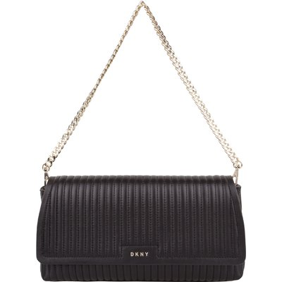 DKNY-Hand bags - Gansevoort East West Flap Shoulder Bag - Black