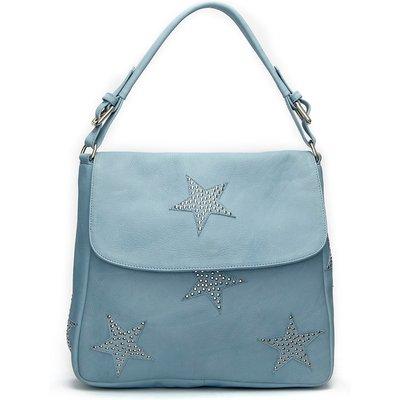 Fabienne Chapot-Handbags - Pauline Bag Such a Stud Stars - Blue
