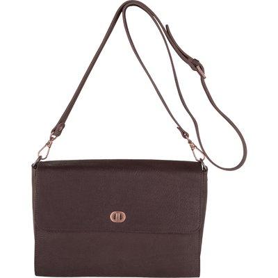 Fred de la Bretoniere-Handbags - Rosa Vachetta Medium Bag - Brown