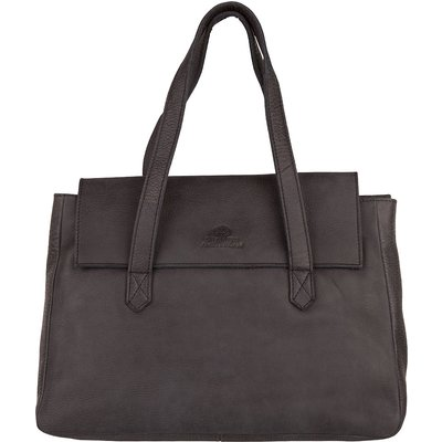 Shabbies-Handbags - Shabbies Bag Medium Short Flap - Black