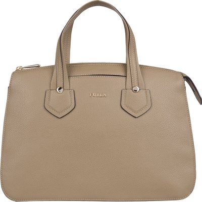 Furla-Hand bags - Giada Medium Satchel Zip - Grey