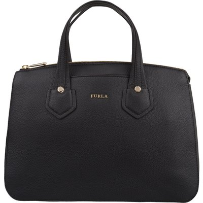 Furla-Hand bags - Giada Medium Satchel Zip - Black