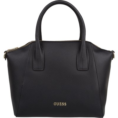 Guess-Handbags - Isabeau Medium Satchel - Black
