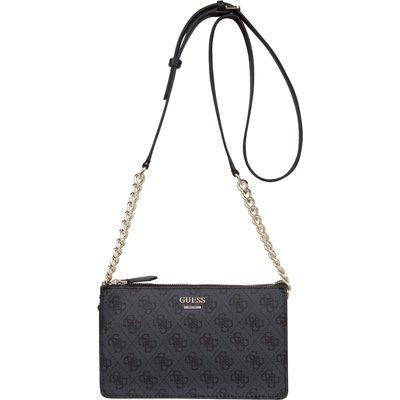 Guess-Handbags - Arianna Mini Crossbody Top Zip - Grey